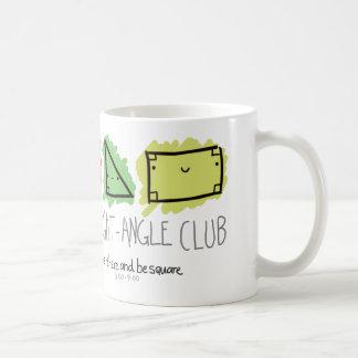 The Right-Angle Club Basic White Mug
