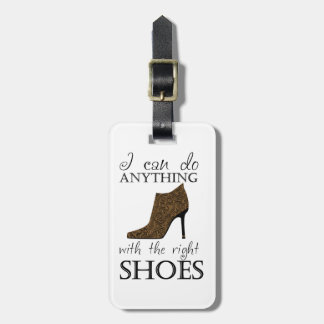 The Right Shoes Custom Color Travel Bag Tag