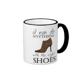 The Right Shoes Ringer Coffee Mug