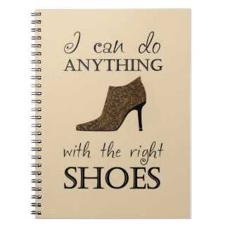The Right Shoes Notebook