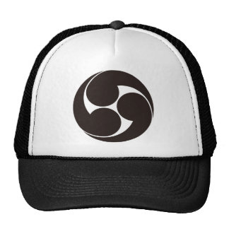 The right three-sided crest cap