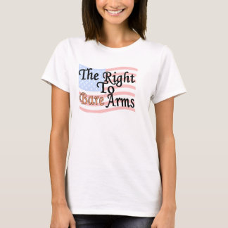 THE RIGHT TO BARE ARMS Attitude Tank Top