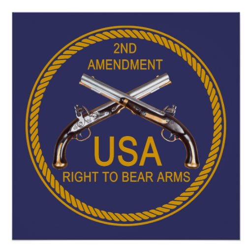 The Right To Bear Arms 3 Print