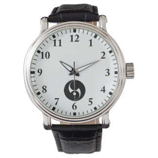 The right two 巴 (area pulling out) wrist watch