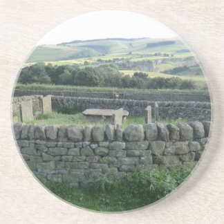 The Riley Graves near Historic Eyam in Derbyshire Coaster