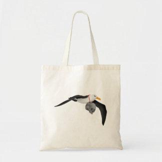 The Rime of the Ancient Mariner Albatross Skull Budget Tote Bag