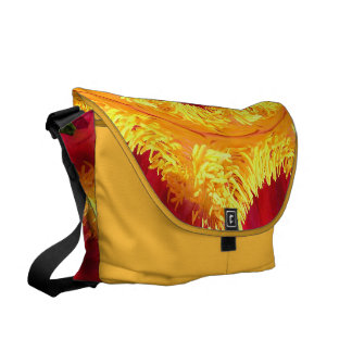 The Ring of Fire Courier Bag