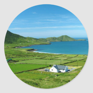 The Ring of Kerry Round Sticker