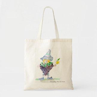 The ripe fairy budget tote bag