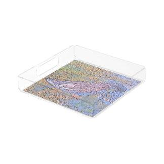 The Ripples Acrylic Tray