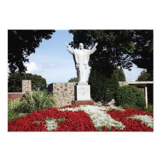 The Risen Jesus Christ statue Announcement