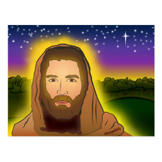 The Risen Lord Jesus Postcard