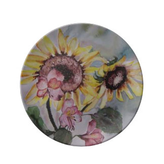 The Rising Sun by Lyn Graybeal Plate