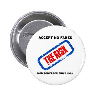 The Risk - Mod Powerpop 6 Cm Round Badge