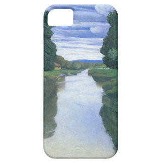 The River at Berville by Felix Vallotton Case For The iPhone 5
