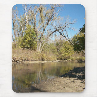 The River Bank Mouse Pad