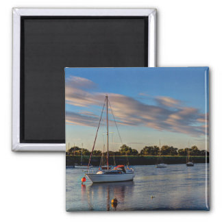 The River crouch Essex Refrigerator Magnets