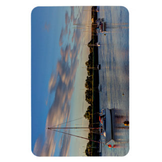 The River crouch Essex Rectangle Magnet