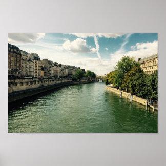 The River Seine Poster
