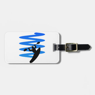 THE RIVER SHOWN LUGGAGE TAG