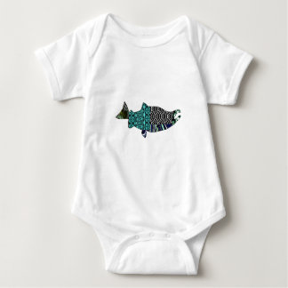 THE RIVER SWIRLS BABY BODYSUIT
