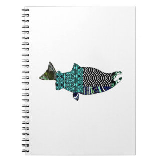 THE RIVER SWIRLS SPIRAL NOTEBOOK
