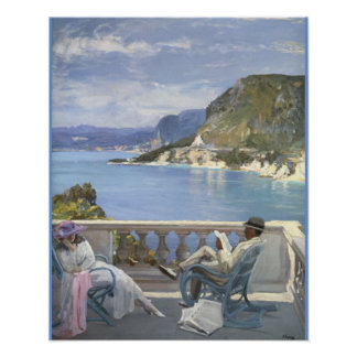 The Riviera by Lavery Poster