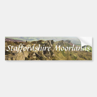 The Roaches in the Staffordshire Moorlands photo Bumper Sticker