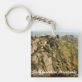 The Roaches in the Staffordshire Moorlands photo Key Ring