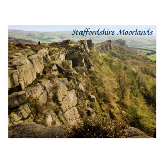 The Roaches in the Staffordshire Moorlands photo Postcard