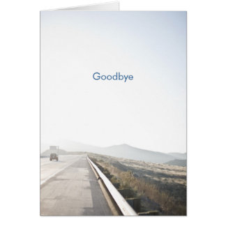 The Road Ahead Greeting Card