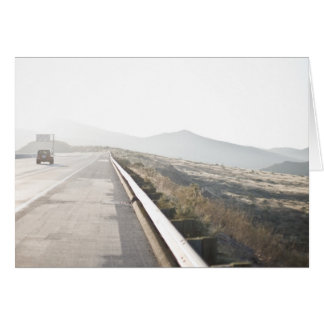 The Road Ahead Note Card