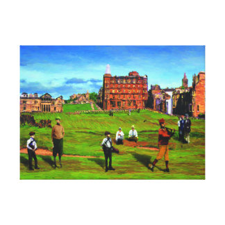 The Road Hole at Saint Andrews Canvas Print