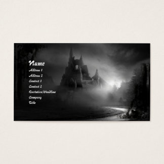 The Road Home Gothic Business Card