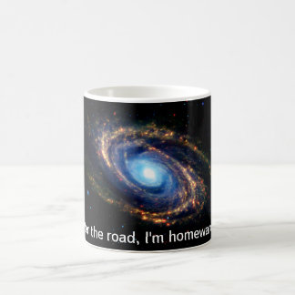 The Road Home. Universe, Galaxy Science Fiction Basic White Mug