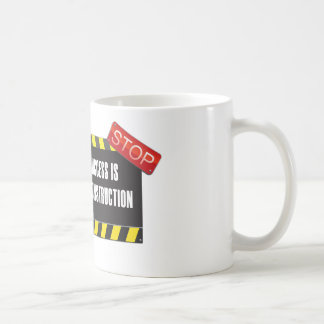 The road is under construction coffee mugs