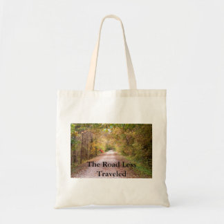 The Road Less Traveled Canvas Bag