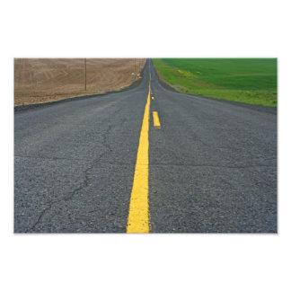 The Road Less Traveled. Photo Print