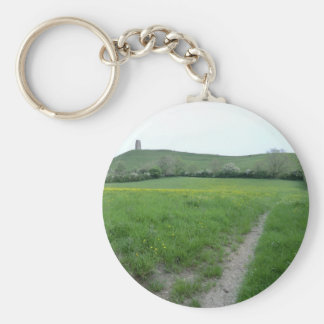 The Road to Avalon Basic Round Button Key Ring
