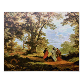 THE ROAD TO EMMAUS POSTER