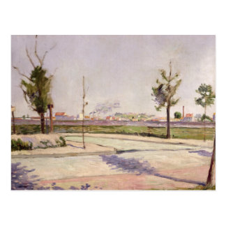 The Road to Gennevilliers, 1883 Postcard
