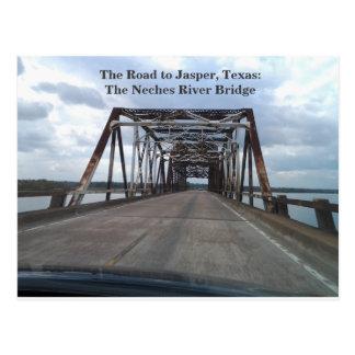 The Road to Jasper, Texas Postcard