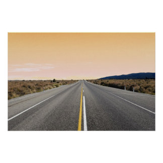 The Road to Nowhere 36 x 24 Poster