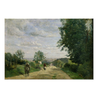 The Road to Sevres, 1858-59 Poster