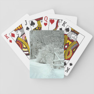 The Road to Winter Playing Cards