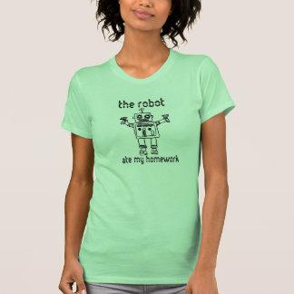 The Robot Ate My Homework T-Shirt