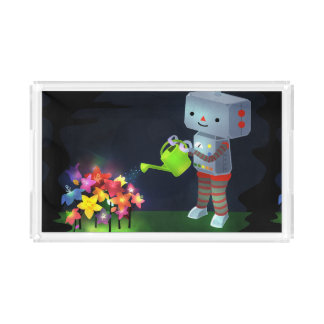 The Robot's Garden Acrylic Tray