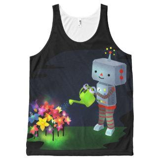 The Robot's Garden All-Over Print Singlet