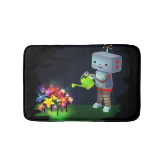 The Robot's Garden Bath Mat