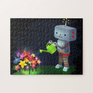 The Robot's Garden Jigsaw Puzzle